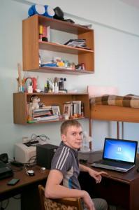 Комната студентов