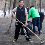 Субботник в Студгородке