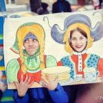 Жители Студгородка приобщились к традициям русских гуляний